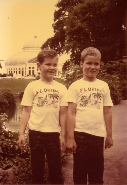 Mark and Scott Larry's sons 1968