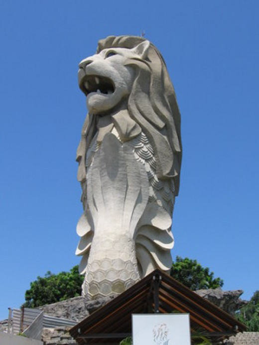 The Merlion Credit: Sengkang Copyright: Wikimedia Commons