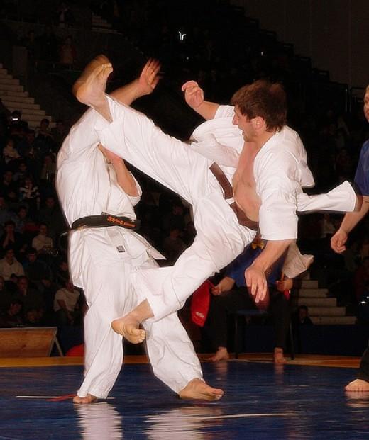 karate kick image by taneushka