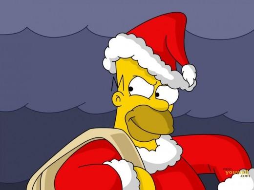 HO HO HO! Do I look like Santa already? Ok, who I need to be fool?