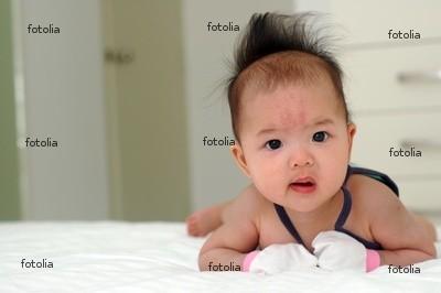 An Asian baby
