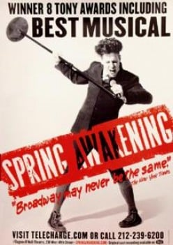 Spring Awakening: Teenage Angst, Self-Discovery, and Electrifying Music