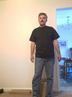 Me at 192lbs. March 20 2010.