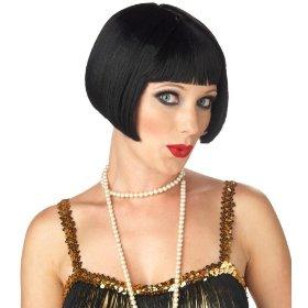 Fancy dress flapper wig