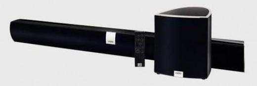 VIZIO VSB210WS Universal HD Sound Bar with Wireless Subwoofer -- image credit: vizio.com