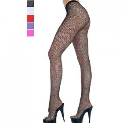 Retro fishnet tights