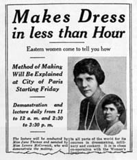 Making a 1920s dress in under an hour