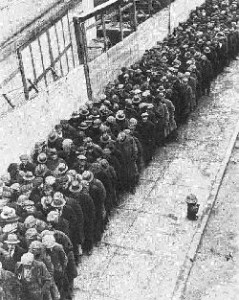 SOVIET BREAD LINES AFTER SOCIALISM WAS IMPLEMENTED MADE SURE NO ONE HAD MORE BREAD EXCEPT THE BUREAUCRATS AND PARTY LEADERS