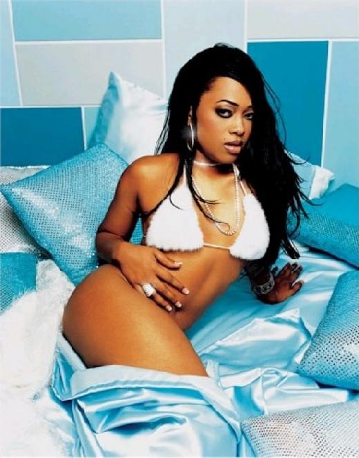 Trina Rapper Trina poses in