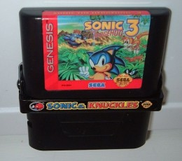 Sonic 3 locked onto Sonic & Knuckles