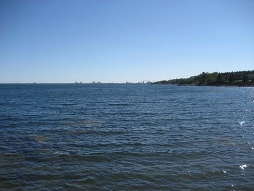 Glensheen View of Lake Superior