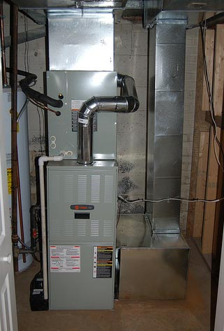 Furnace versus coal-fired boiler