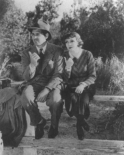 Frank Billings and Claudette Colbert in 'It Happened One Night'