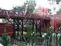 Puente de los Suspiros (Sighing Bridge) in Barranco. Chabuca Granda also composed a song about this bridge.