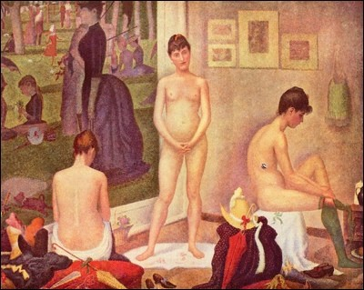 George Seurat, Barnes Collection