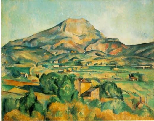 Paul Cezanne, La Montagne