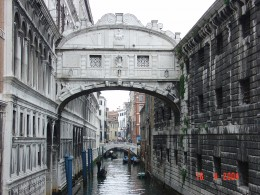 Bridge of Sighs by Eustaquio Santimano