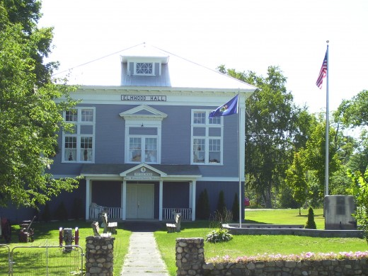 Historical Elmwood Hall in Lee.