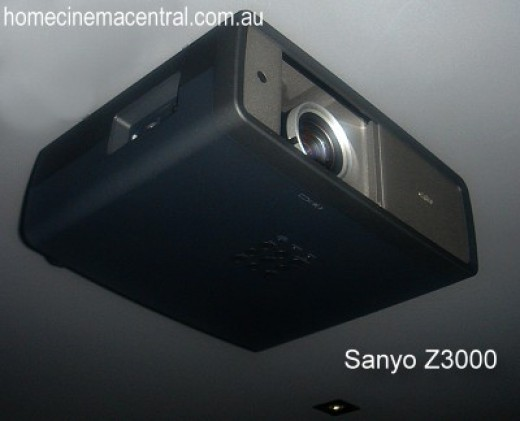 Sanyo Z3000 Home Cinema Projector from http://www.HomeCinemaCentral.com