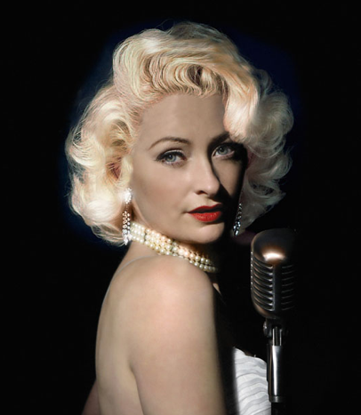 Derby Browne as Marilyn Monroe in Let's Make Love