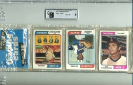 1974 Baseball Rack Pack