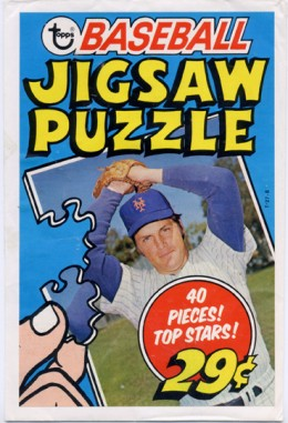1974 Topps Test Issue Jigsaw Puzzle