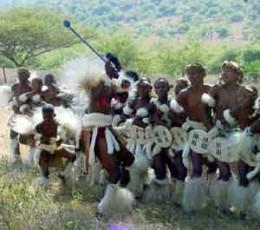 Zulu Youth Dancers in South Africa