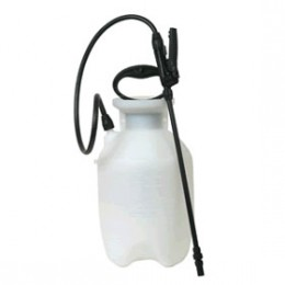 Pump sprayer to wet popcorn ceiling