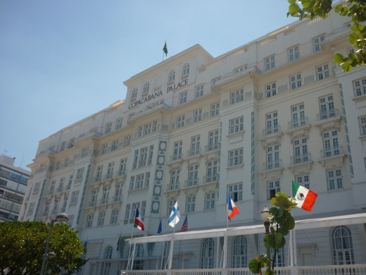 Copacabana Palace - isn't it magnificent?