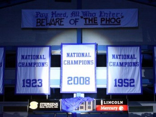 Perhaps another banner will soon be hanging from the rafters