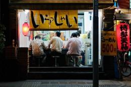 Noodle shop | Shimbashi, Tokyo by jamesjustin
