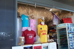 T-Shirts and Surfing Accessory Shop at Bondi Beach