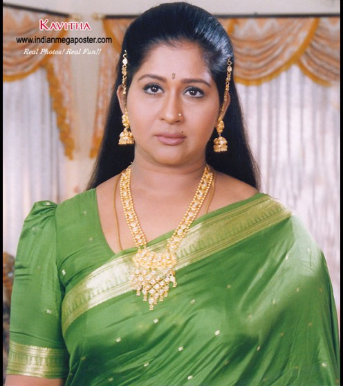 Post subject: Sexy Tamil TV Serial Aunty Kavitha