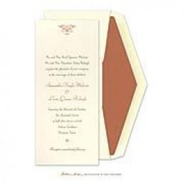 Tea Length Wedding Invitation
