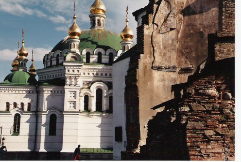The refectory at Pechersk Lavra.