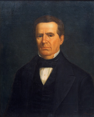 Anson Jones, Minister to the U.S. from Texas, 1838; Secretary of State under Houston, 1841-44