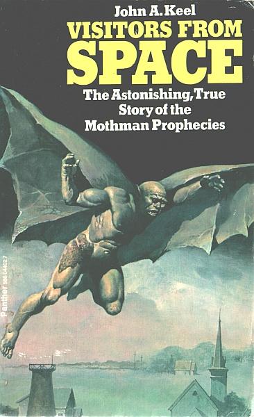 Image Source/Fair Use: http://en.wikipedia.org/wiki/File:Mothman_Prophecies.jpg
