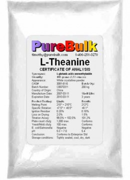 L-Theanine Powder Bulk