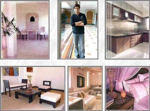 shahrukh khan house. Shahrukh khan#39;s home is at