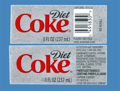 What's in diet soda?
