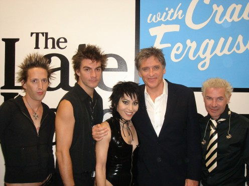 Joan Jett and the Blackhearts on The Late Late Show With Craig Ferguson.