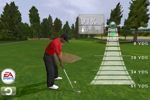 Play Online Golf at Electronic Arts Site