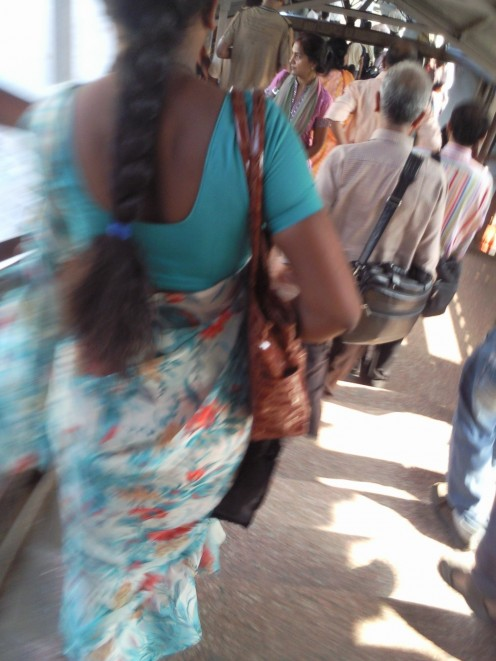 Indian Aunty Back Image 2