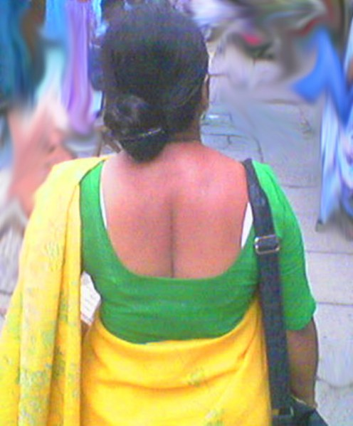 Indian Aunty Back Image 5