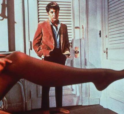 One of Hoffman's finest movies was The Graduate