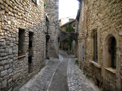 medieval village by teepi