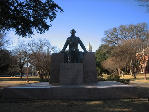 Statue of Judge Baylor Photo Credit: Wikipedia