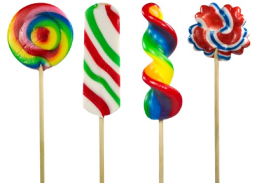 Good bye lollipops...