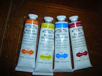 Buy Oil Paints.  Image taken from http://www.oil-painting-for-beginners.com copyright 2010.