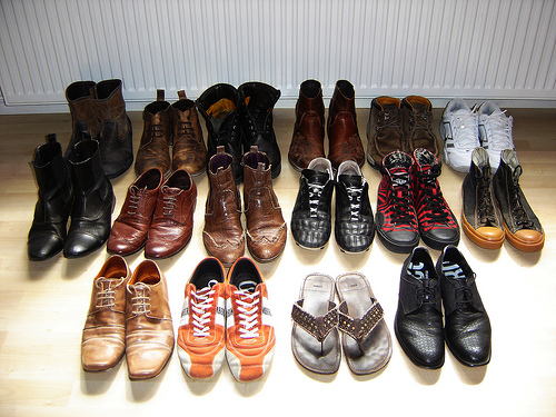 Choose the right shoes for the right occasion.